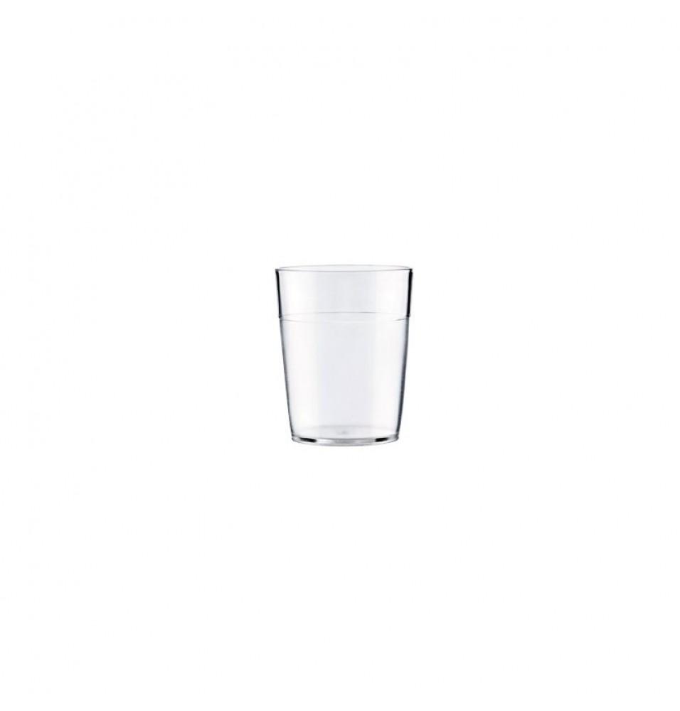 Pahar transparent din policarbonat, capacitate 350 ml