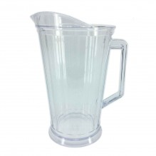 Carafa transparenta 2 litri, din plastic