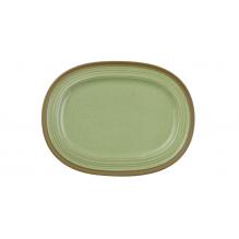 Farfurie plata ovala, ceramica, dimensiuni 355x265mm