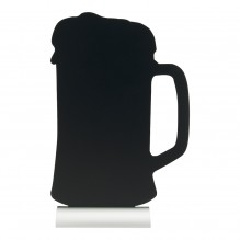Tabla neagra, forma halba,  dimensiuni 213x60x340hmm