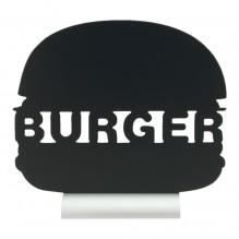 Tabla neagra, forma burger, dimensiuni 275x60x250hmm