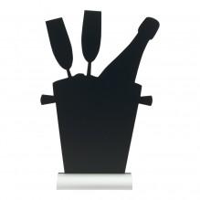 Tabla neagra, forma frapiera, dimensiuni 230x60x355hmm